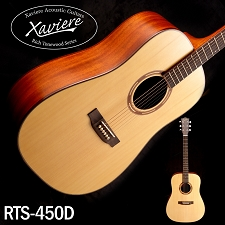 Xaviere ALL WOOD Dreadnaught Solid Spruce Top Mahogany