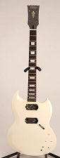 Set-Neck Special - SG Style - Humbuckers - White