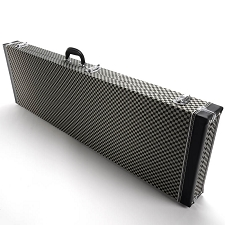 "PREMIUM ""Checkerboard"" P/J Bass Hardshell  Case- SUPER Quality- Our Best!"
