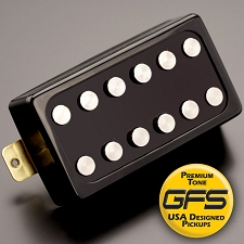 KP - Loudmouth, EXTRA POWER with vintage Tone, Black - Kwikplug™ Ready