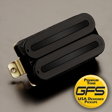 KP - GFS Power Rails- Crushing power, Killer Tone- Black on Black - Kwikplug™ Ready