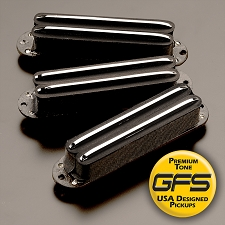 KP - Lil Killer Black Humbucker Rail Pickup for Strats- Three Versions  Available - Kwikplug™ Ready