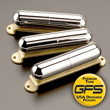 KP - Pro-Tube Lipstick Pickups, Chrome - Kwikplug™ Ready