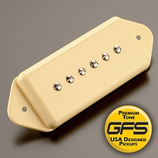 KP - GFS Alnico Vintage Wound Dogear Pickups, Cream - Kwikplug™ Ready