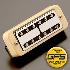 KP - HOT Nashville Minitron Humbucker Overwound Wound P90 - Soapbar mount - Kwikplug™ Ready