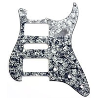 GFS REDactive USA Custom Shop Hand Wired Pickguard Assembly  - HSH - Covered Pickups