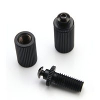 Locking Black Plated Screws/Studs
