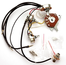 kpw01_thumbnail kwikplug lp dual coil tap humbucker wiring harness pre soldered gfs wiring harness at fashall.co