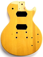 LP Special Body- SOLID Mahogany- Bolt On TV Yellow Free Rear Plates!