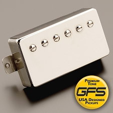 GFS professional Series Alnico V Humbucker Nickel Case Neck Pickup