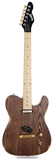 Slick SL50 Aged Brown Ash Dual Telecaster Pickups Maple Fingerboard