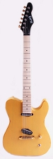 Slick SL50 Aged Butterscotch Dual Telecaster Pickups Maple Fingerboard