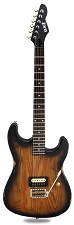 Slick SL54T Single Pickup Tremolo SOLID Ash Body Vintage Sunburst