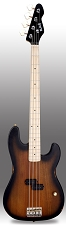Sunburst Slick SLPB Solid Ash Bass Guitar Maple Fingerboard SLick Alnico Pickup