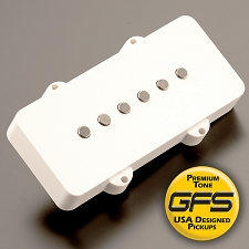 KP - GFS JM90 OVERWOUND Hot Jazzmaster Pickups, WHITE - Kwikplug™ Ready