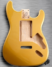 XGP Aztec Gold Metalflake Strat Body