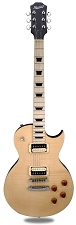 XV-500 Carved Top Flamed Maple Clear Gloss Maple Fingerboard
