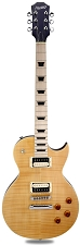 XV-500 Carved Top Flamed Maple Vintage Natural Maple Fingerboard