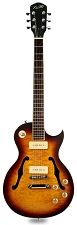 XV-560 Quilt Carved Top Tobacco Sunburst Alnico P90s