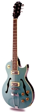 XV-570 Rockabilly Semi-Hollowbody Minitron Humbuckers Maui Blue - Blem