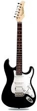 XV-875 Gloss Black Kwikplug Equipped HSS Rosewood Fingerboard