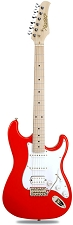XV-875 Fiesta Red Kwikplug Equipped HSS Maple Fingerboard