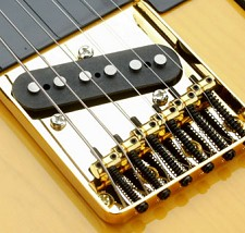 6 Saddle Vintage Bridge for Tele GOLD
