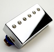 Alnico Fat Pat Boutique Humbucker Chrome Neck Position