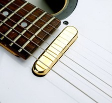 Alnico Tele Pickup GOLD Cover Vintge Wound