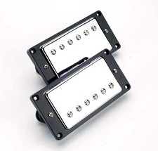 Chrome Humbuckers- Matched Pair- Overwound BLOWOUT!!