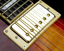 Crunchy Pat High Output Humbucker Gold Neck Position