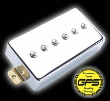 Dream 90 Humbucker SIzed P90 - Chrome Case Bridge Pickup