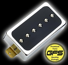 GFS Dream 90 Black Bobbin with Chrome Case Bridge Position