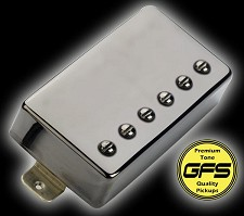 GFS Fat Pat Black Nickel case Bridge Position