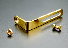 GOLD Les Paul Pickguard Mounting Bracket with Hardware
