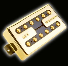 Hot Liverpool Alnico Overwound Humbucker Gold Neck Position