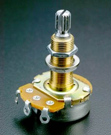 Long Shaft 250K Audio Pot for USA Les Paul