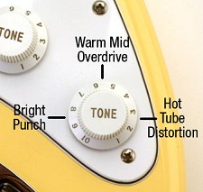 Onboard Guitar Enhancer Unit- OVERDRIVE that tube amp!!