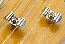 Pair Nickel Butterfly Strat String Trees complete