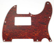 Telecaster Tortoise Shell Pickguard- Cut for Neck humbucker -Blem