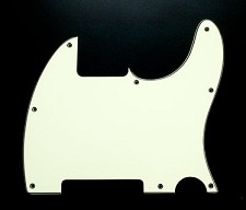 Vintage Mint Green Esquire Pickguard