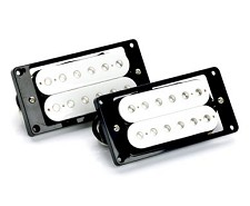 WHITE Hot Humbucker BLOWOUTS- Matched Pair of Pickups.