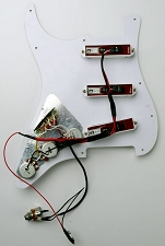 Handwired STrat Harness- Plug-N-Play for Redactives.