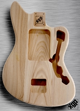 XGP Professional Offset Body Unfinished Swamp Ash