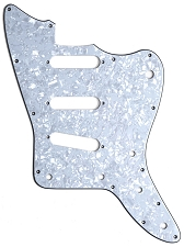 XGP 3 Ply MOP Offset Pickguard- 3 Single Coils