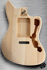 XGP Professional Offset Body Strat Tremolo Unfinished White Poplar