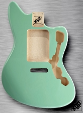 XGP Professional Offset Body Strat Tremolo Surf Green