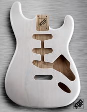 XGP Professional Strat Body Mary Kaye White Solid Swamp Ash