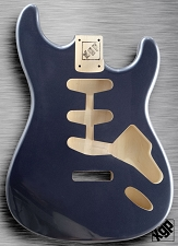 XGP Professional Strat Body Gunmetal Grey Metallic
