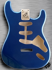 XGP Professional Strat Body 1963 Lake Placid Blue Metallic